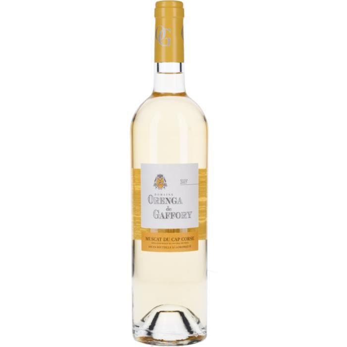 Vin Blanc - Cuvée Orenga de Gaffory - Muscat 2017 - Bouteille 75cl