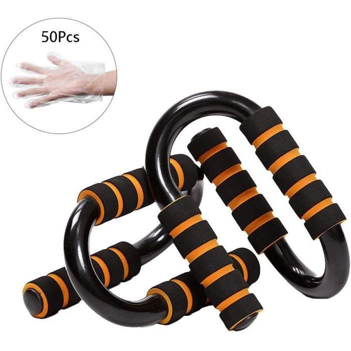 PUSH UP BARS Sauter Antiglissante Push Up Bars Poign&eacute es D'appui pour Musculation des Bras &Eacute paules Poitrine Dos431