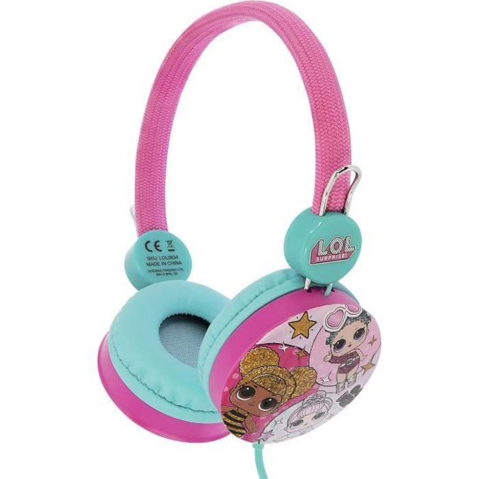 L.O.L. Surprise! Casque Audio Enfant Kidsafe