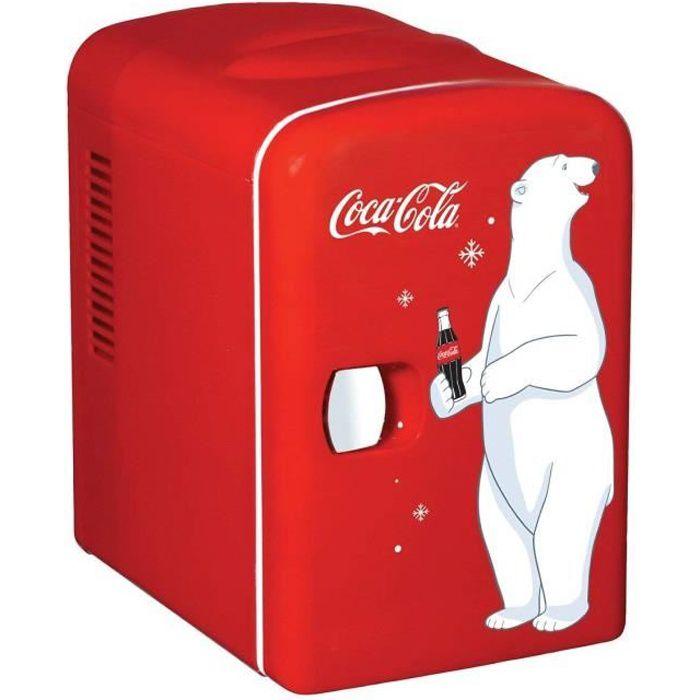 Coca Cola KWC4 Frigo électrique Mixte Adulte, Rouge - KWC-4