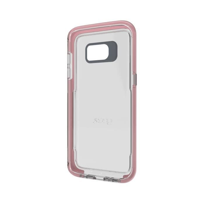 GEAR4 D3O Piccadilly for Galaxy S7 Edge Rosegold