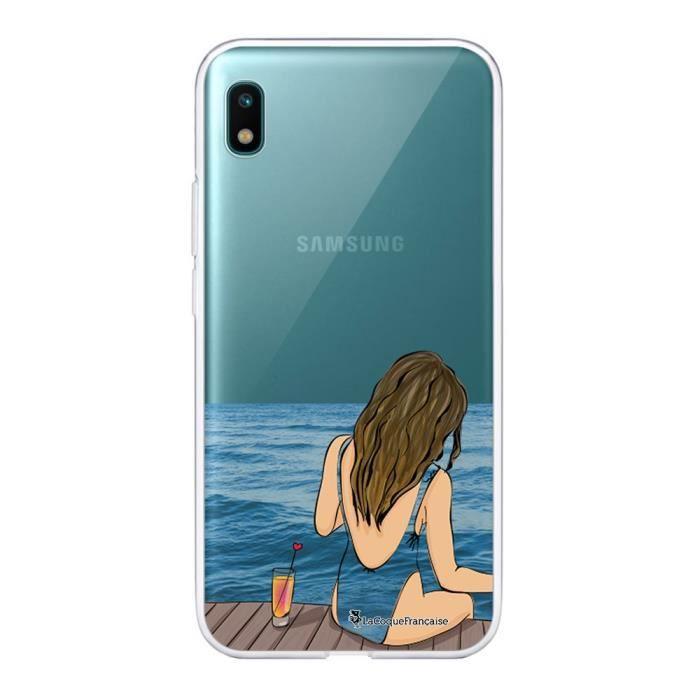 Coque Samsung Galaxy A10 360 intégrale transparente Au bord de l'eau Ecriture Tendance Design La Coque Francaise