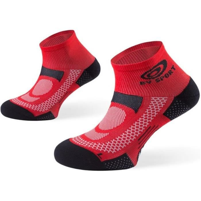 BV SPORT - Chaussettes - SCR ONE Rouge