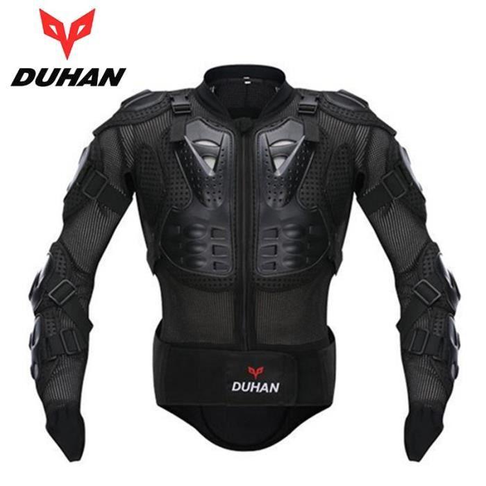 DUHAN Professionnel Motocross Racing Full Body Armure Colonne Vertébrale Veste De Protection Gear Moto Équitation Protection Du Corp