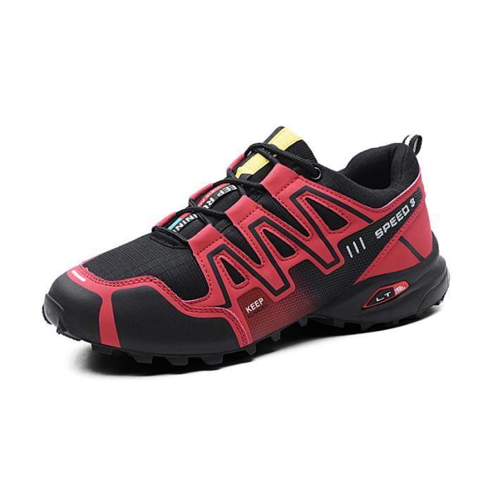 Chaussures de Randonnée Homme Activité Extérieur Anti-dérapant Résistant à l'usure