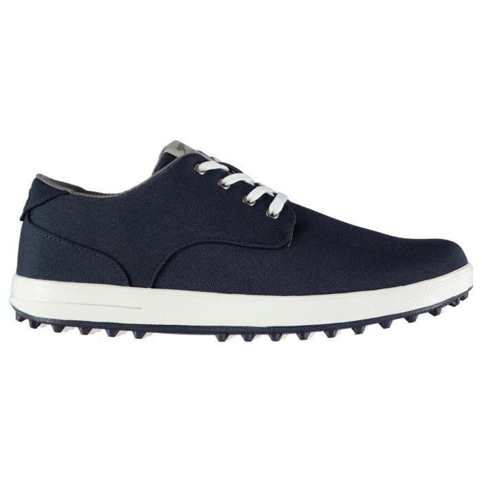 Slazenger Chaussures En Toile Golf Hommes Bleu Marine Bleu Marine