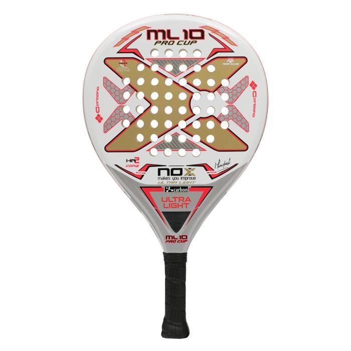 Raquette Nox ML Procup Ultralight - blanc-or - TU Padel