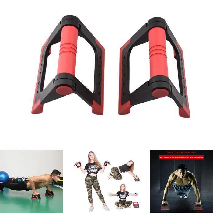 Fitness Push Up Bars Poignées Push Up pliables antidérapantes Supports de barre avec poignées rembourrées