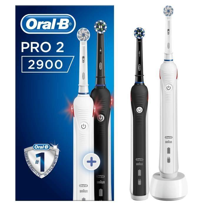 ORAL-B Brosses À Dents Électriques Pro 2 2900