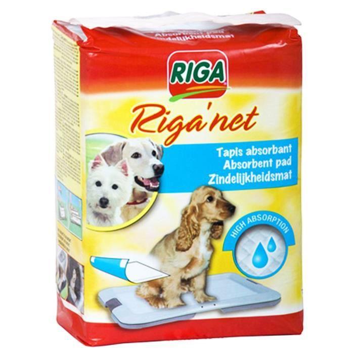 RIGA RIGANET tapis de propreté x 12 CHIENS