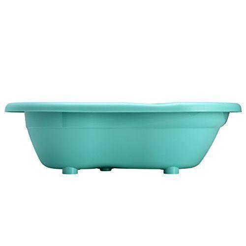 Rothobabydesign rotho babydesign Baignoire Ergonomique Top Line Bleu Curaçao - 20001 0235