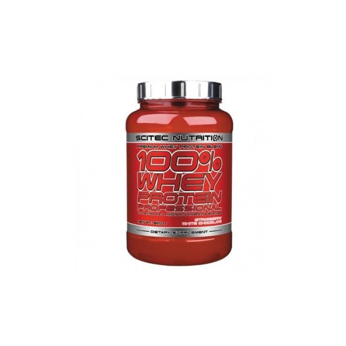 100% Whey Protein Professional Chocolat blanc fraise 2350gr