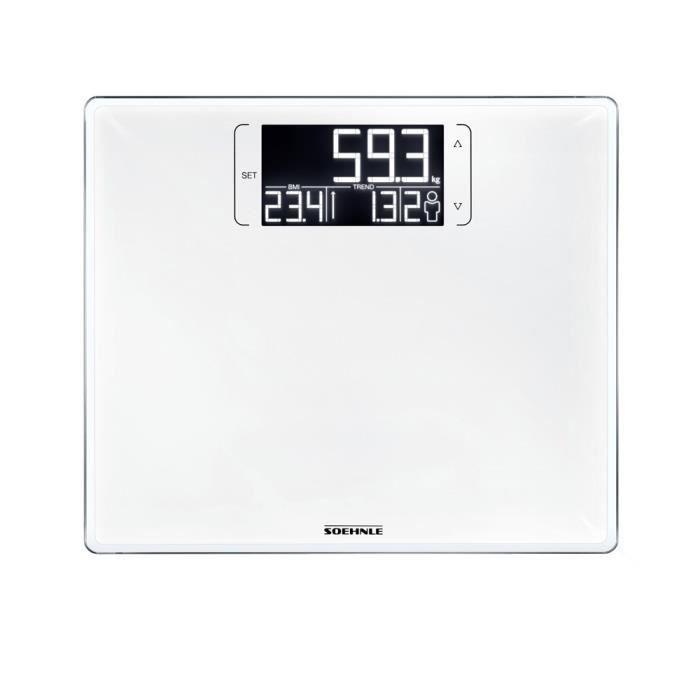 SOEHNLE Pèse-personne Electronique Multi 200 - 180 kg/100g