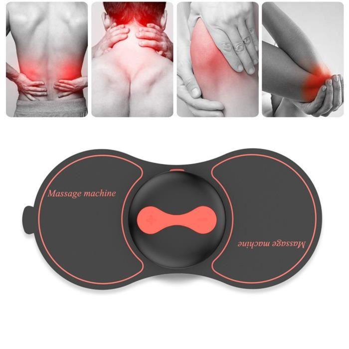 Appareils à électrodes de Massage Appareil tens stimulateur électrique rechargeable de muscle d'impulsion avec 5 modes 10 intensités
