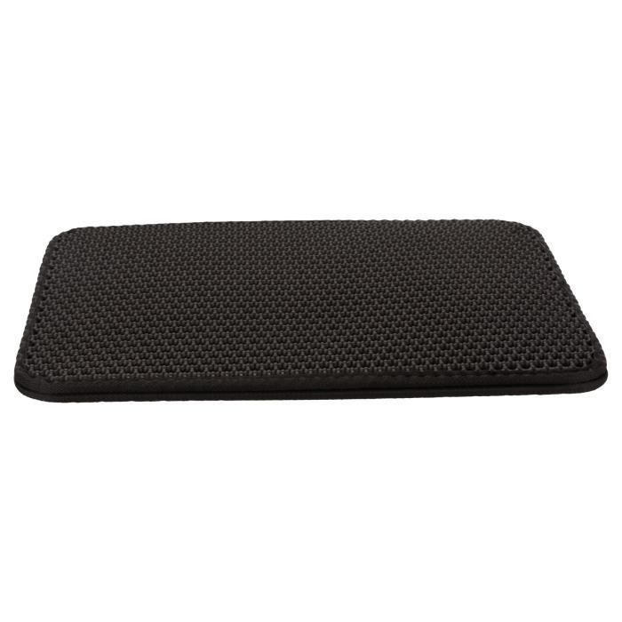TRIXIE Tamis litière EVA pour bacs à litière 35 × 45 cm - Noir