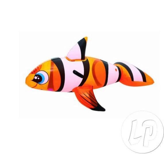 Lot de 12 poisson clown gonflable chevauchable 157x94cm for Poisson clown achat