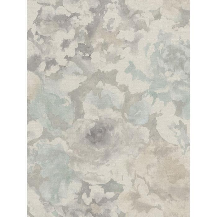 2,49 £//1qm Papier Peint Texturé Plain Beige Gris Rasch Florentine 448634