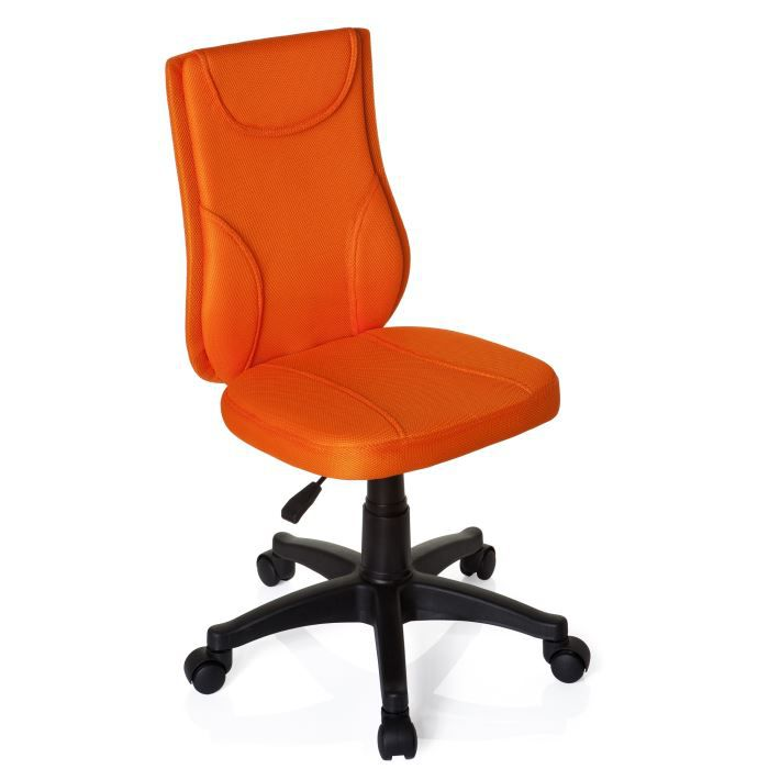 si ge enfant si ge pivotant kiddy base orange achat vente chaise de bureau orange cdiscount. Black Bedroom Furniture Sets. Home Design Ideas