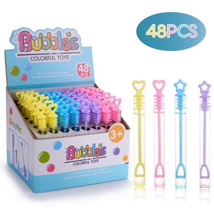 Petite fête bulles parties sac remplissage fournitures jouets cadeau mariage activités