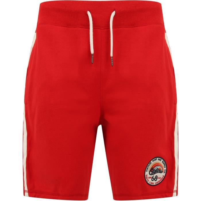 SHORT Short molleton homme / High risk red / rouge