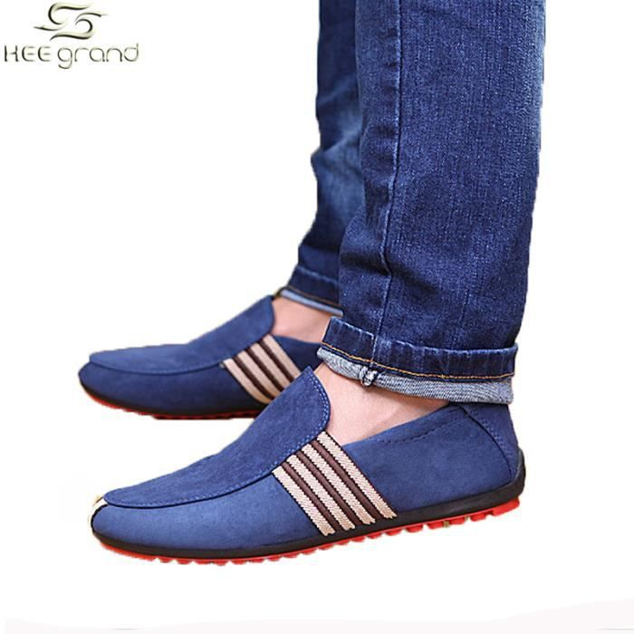 Chaussure HEE Homme GRAND Quotidien Bl Mocassin 4nvnxr
