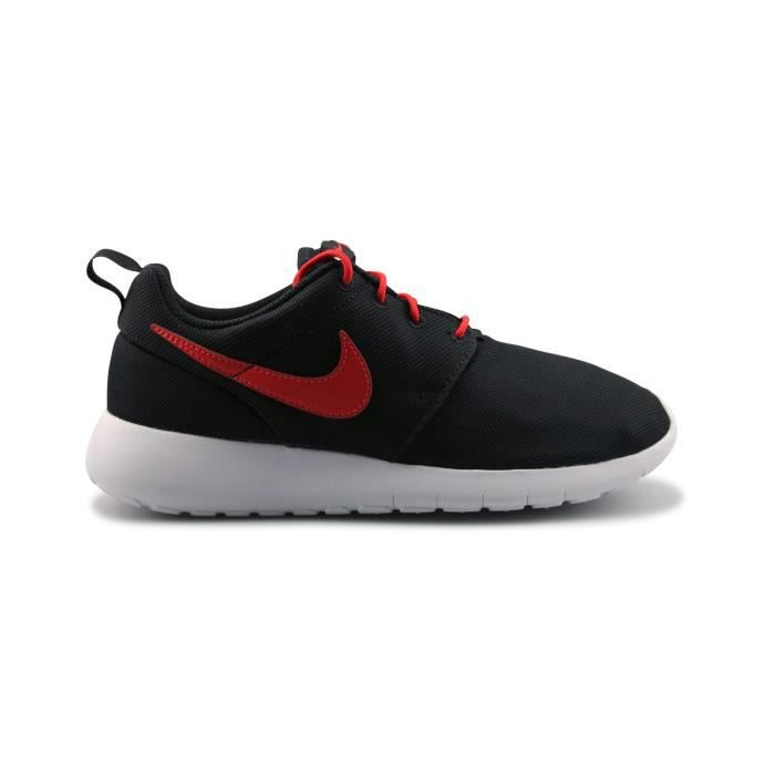 outlet on sale factory authentic new styles Nike Roshe One Junior Noir Noir/Orange - Achat / Vente basket ...