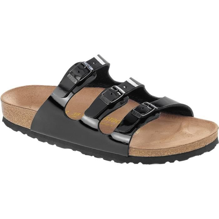 Birkenstock Florida Birko Flor laqué. L'alternative Arizona