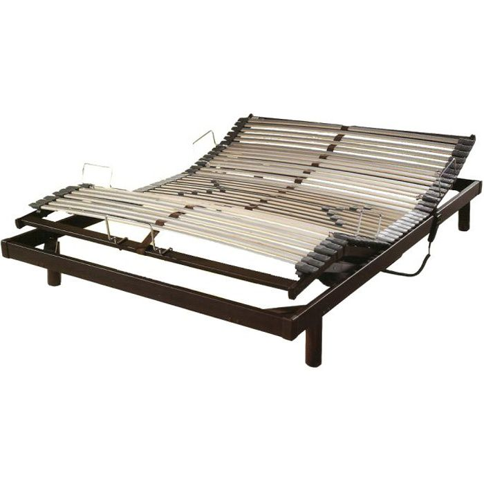 Sommier relaxation lectrique s50 mono 120 x 19 achat vente sommier cd - Sommier electrique but ...