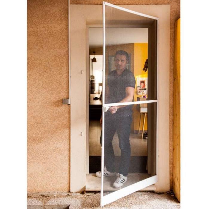 Dimensions DE Cadre: 60 X 200 Verre: Gris Glass House ECO Porte DE HAMMAM MAT/ÉRIEL DE Cadre: Aluminium