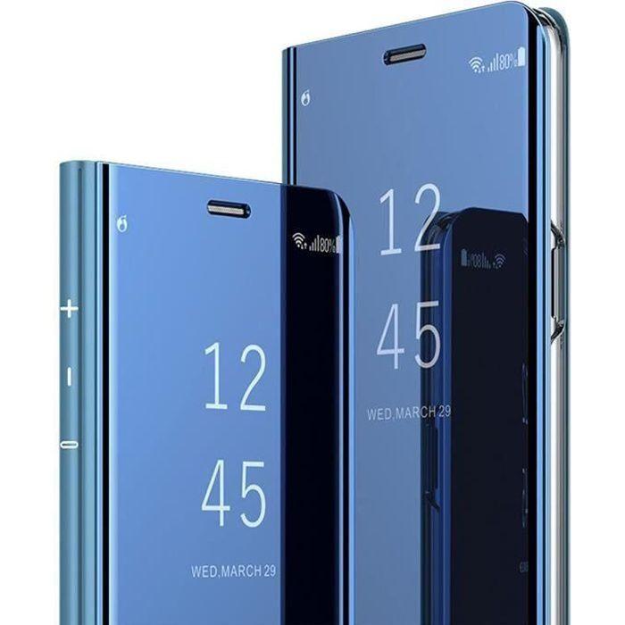 Coque Samsung Galaxy S6 Edge, Etui à Rabat Miroir