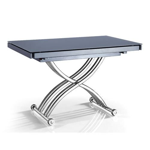 Table Basse Relevable Extensible Ds Grise Pie Achat Vente Table Basse Table Basse