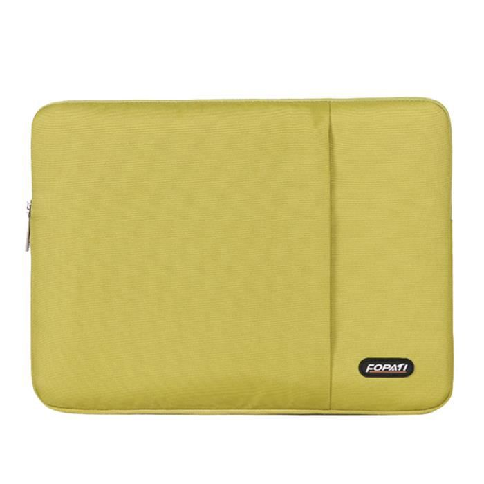 11 12 Sac Macbook Imperméable Pochette Vert Portable Weiqiao® 6