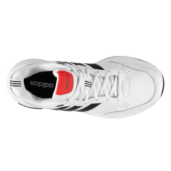 Adidas Strutter Baskets Homme Blanc/noir - Cdiscount Chaussures