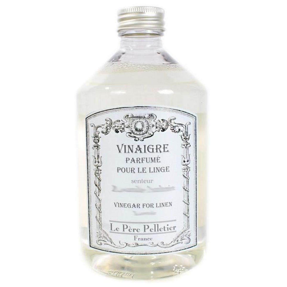 Nettoyer Lave Vaisselle Vinaigre vinaigre parfumé pour le linge 500ml senteur violette - parfum adoucissant  pour machine à laver lave-linge - lpp le père pelletier