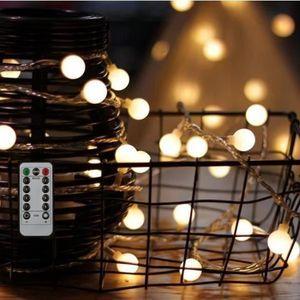 GUIRLANDE LUMINEUSE INT  Guirlande Lumineuse 10M 80 Ampoules, Guirlande lu
