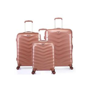 VALISE - BAGAGE Lot de 3 valises rigide 8 roues Verage
