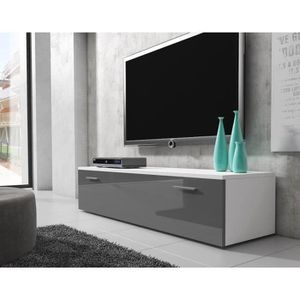 zaiken meuble tv scandinave gris anthracite et d cor ch ne for meuble zaiken
