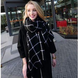ECHARPE - FOULARD Nouvelle arrivée de mode d'hiver écharpe plaid gla