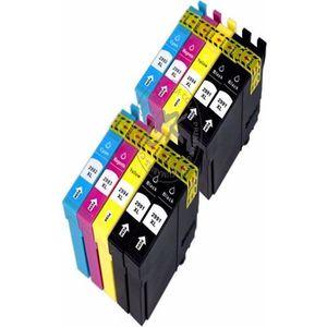 CARTOUCHE IMPRIMANTE Compatible - Pack de 10 cartouches d'encre - EPSON
