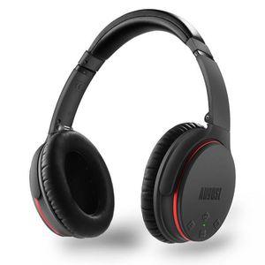 CASQUE - ÉCOUTEURS Casque Audio Bluetooth Réduction de Bruit ANC – AU