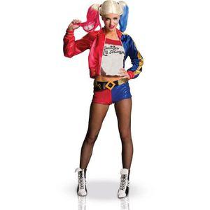 DÉGUISEMENT - PANOPLIE Déguisement Harley Quinn luxe adulte