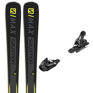 SKI SALOMON E S-max 10 Ski+Z11 Walk L80 Fixations Homm