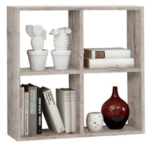 etagere murale blanc 60 cm achat vente etagere murale blanc 60 cm pas cher soldes d s le. Black Bedroom Furniture Sets. Home Design Ideas