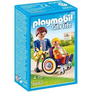UNIVERS MINIATURE PLAYMOBIL 6663 - City Life - Enfant avec Fauteuil