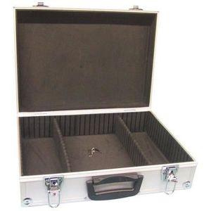 VALISE - BAGAGE Valise aluminium 425x305x125mm alu coffre coffret
