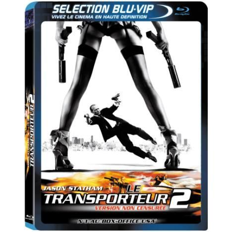 blu ray le transporteur 2 en blu ray film pas cher alessandro gassman amber valletta jason. Black Bedroom Furniture Sets. Home Design Ideas