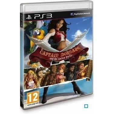 CAPTAIN MORGAN AND THE GOLDEN TURTLE / Jeu PS3