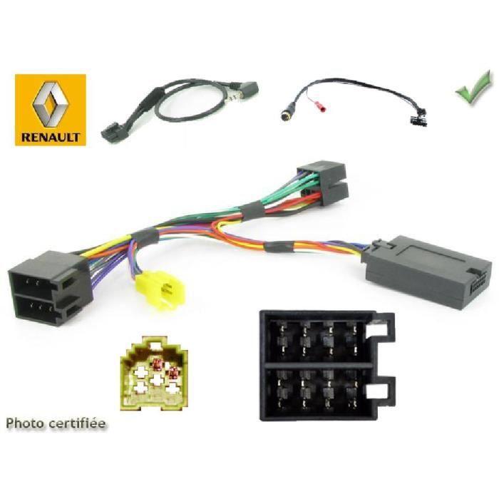 Interface Cde au Volant Renault 00-07 ISO Sans ecran JVC - ADNAuto - ADN-CAV