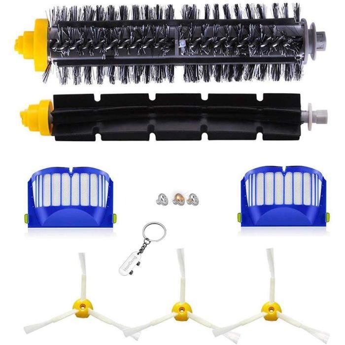 Kit Pièces accessoires Pour IRobot Aspirateur Roomba Série 600 605 615 616 620 621 630 635 650 652 660 665 671 680 690 695.