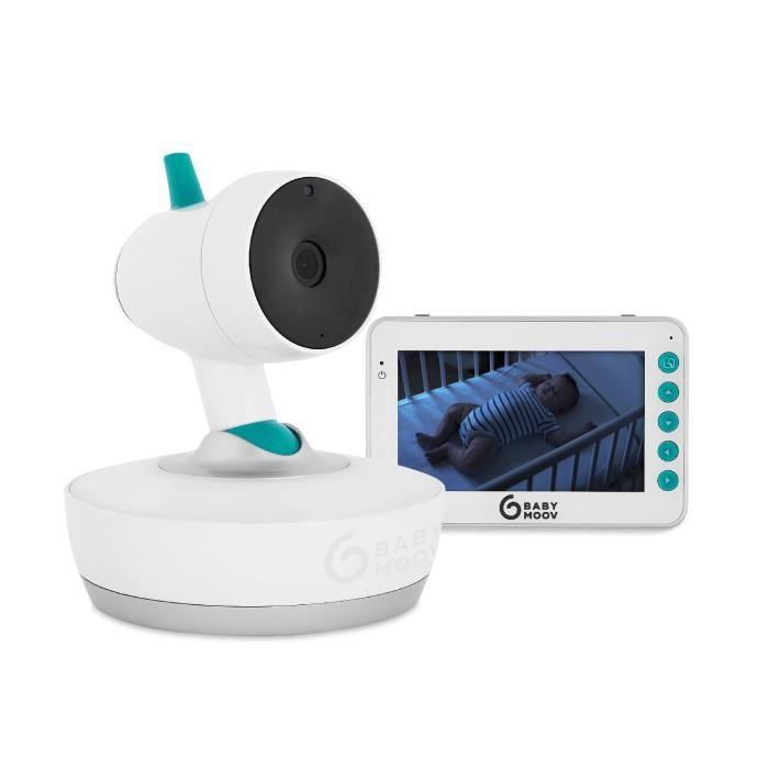 Babymoov YOO Moov Babyphone Vidéo Motorisé 360°
